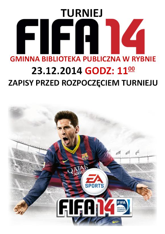 PLAKAT TURNIEJU FIFA 2014