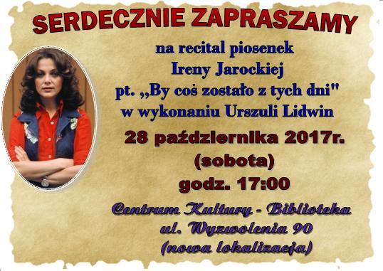 Urszula Lidwin koncert