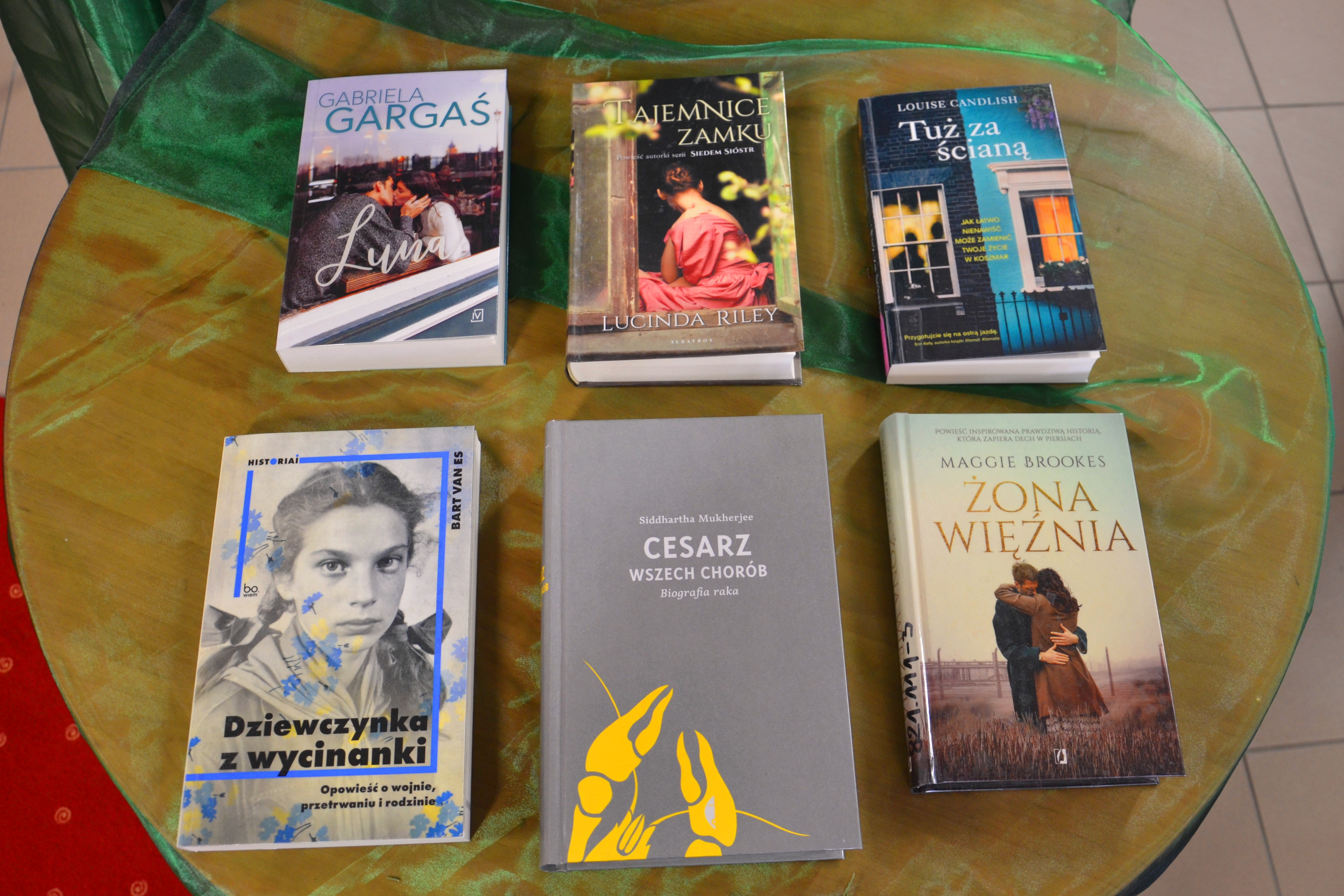 zdjęcie przedstawiające nowe książki